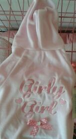 Pink Dogs Girly Girl' Coat, S