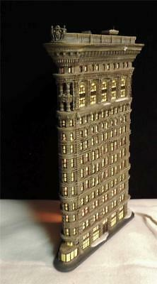 Flatiron Building- Department Dept. 56 Christmas In The City Village