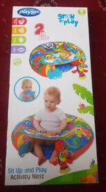 Playgro Sit up and Play Inflatable Activity Nest