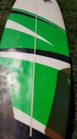 """6'4"""" custom surf board"""