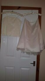 Ivory Corset & Skirt