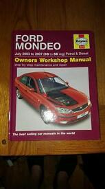 Mondeo Haynes manual
