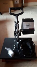 Heat Press (38x38cm) - Perfect Condition - Inkjet transfer + Digital Timer