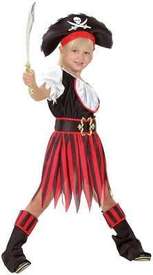 Piraten Kostüm Kinder Mädchen - komplettes Piratin Kostüm für Kinder 881226