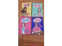 4 Cathy Hopkins books. Zodiac Girls