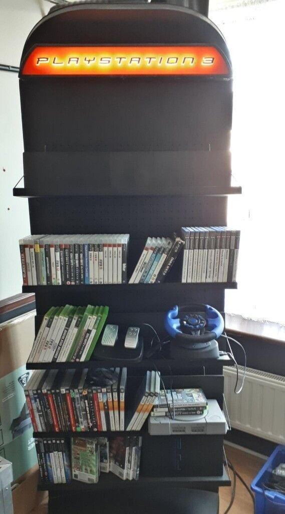 illuminated PlayStation 3 Game Display Stand / Unit with FREE Games ect |  in Chelmsford, Essex | Gumtree