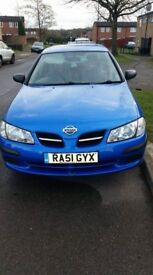 Nissan almera 1.5 For sale spares or repairs