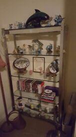 Lovely glass shelves