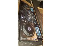 Pioneer xdj 1000 pair an Djm 900 nexus2