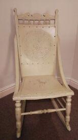 Decorative Stud Back Rocking Chair