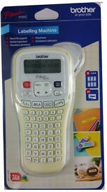 Brother P-Touch H101C Handheld Labelling Print Machine System + Tape + Batteries