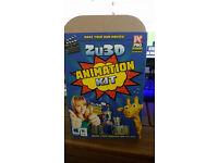 BNIB Zu 3D Animation Kit
