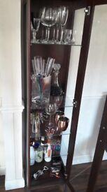 Cabinet with glass shelfs