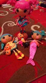 Lalaloopsi dolls