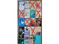 Buy 1 Get 1 Free - Fiction Reading Books £1 each