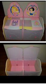Disney Princess storage bench
