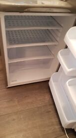 Hotpoint Silver fridge and frost free freezer