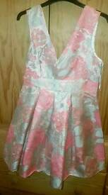 Size 12 floral short dress