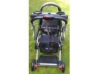 Baby Trend Sit N Stand Ultra Tandem Stroller Phantom Baby Trend