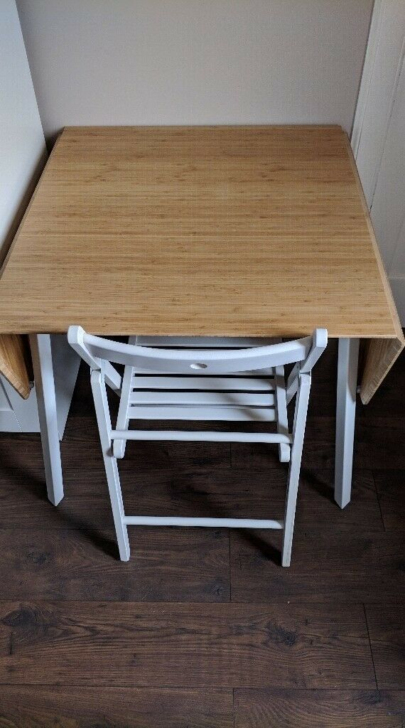 Drop Leaf Table Ikea Ps 2017 Bamboo White