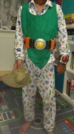 tree Fu Tom costume with accessories