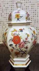 Royal China by Seltmann Weiden (Bavaria, W. Germany) Vase with Lid Excellent Condition