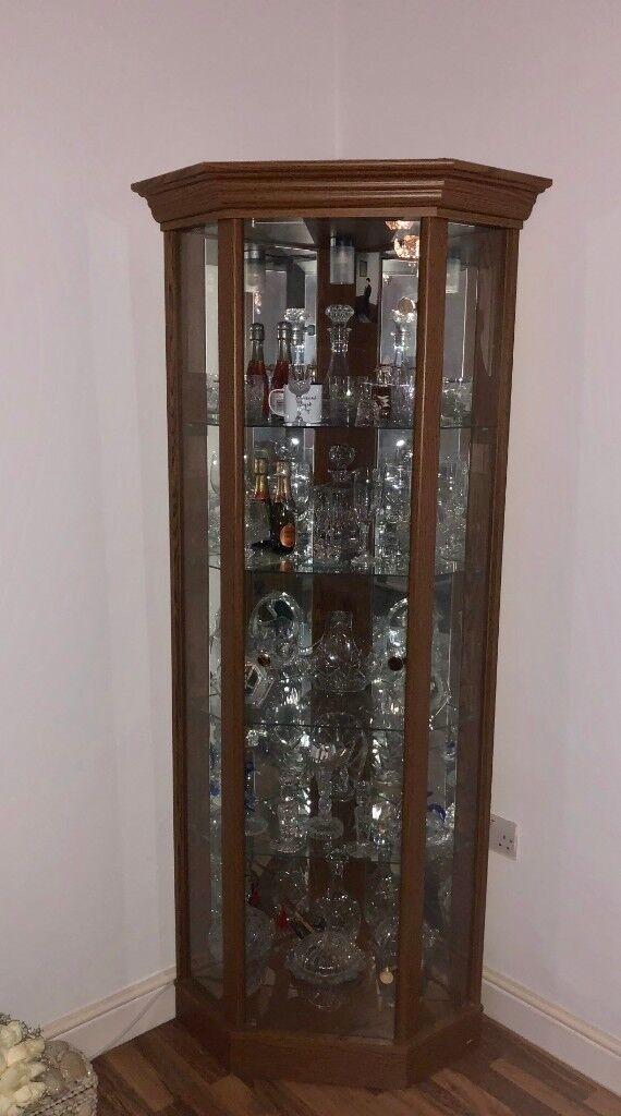 Glass Door Corner Display Cabinet In Highbury London Gumtree