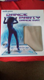Dance party: Dance Mat Wii