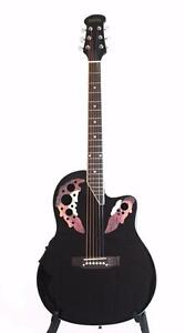 Round back Acoustic Electric Guitar 41 inch iMusic632