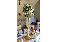 Candle Candleabra x 8