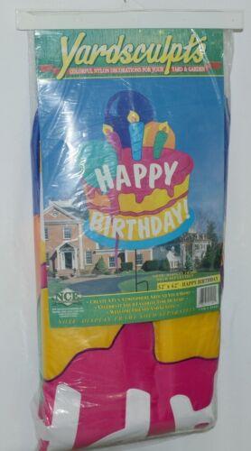 New Creative Enterprises 21404 Yardsculpts Happy Birthday Ya