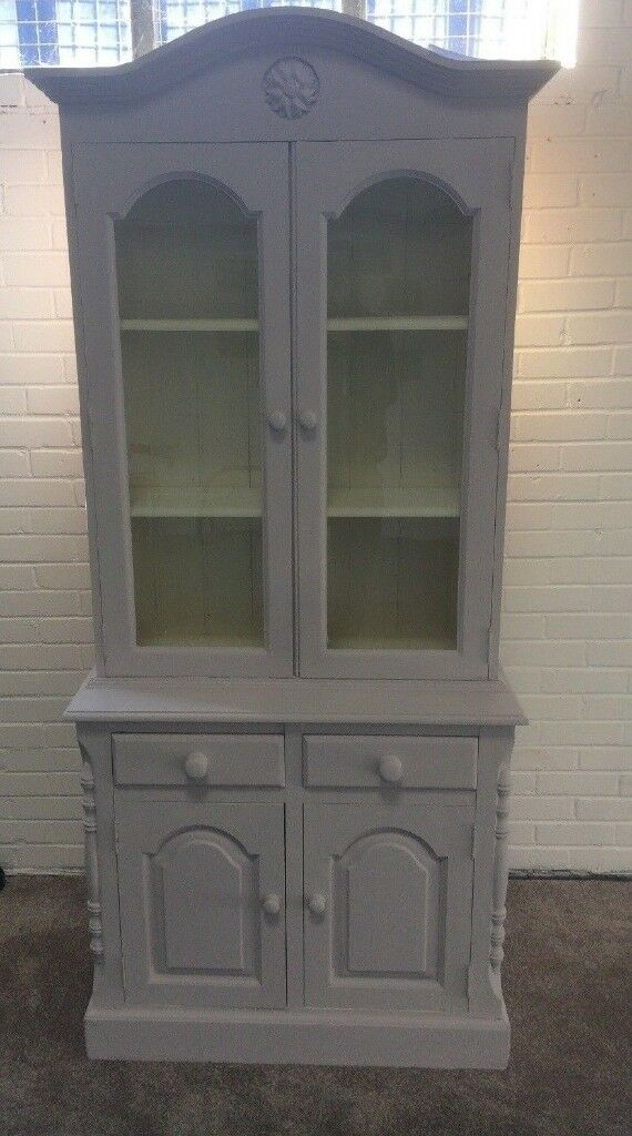 Welsh Dresser Kitchen Dining Room In Willow Vanilla Earthborn Claypaint