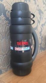Original Thermos flask 1 litre Black limited stock