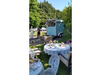 Immaculate vintage catering trailer