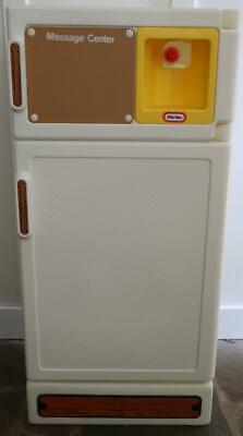 Vintage Little Tikes Refrigerator Kitchen Child Size RARE HTF FREE SHIPPING!