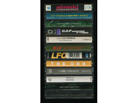 VERY RARE DANCE MUSIC TAPES FOR SALE - APHEX TWIN BASEMENT JAXX KLF LFO ORB ORBITAL SUAD