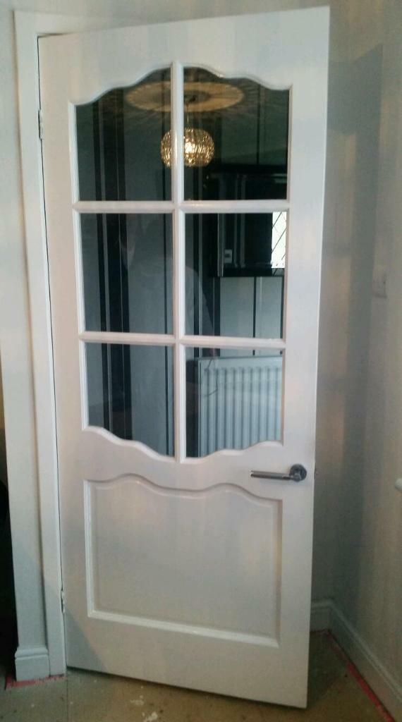 Glass Panel Interior Door White Buy Sale And Trade Ads