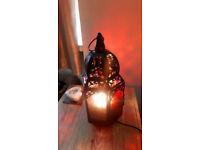 Morrocan style Dunelm lamp