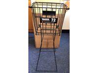 Teloon Metal Ball Basket / Hopper (Holds 72) with wheels