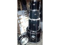 Pearl Export Shell Pack Drum Kit in Black