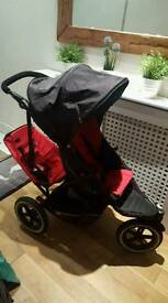 Phil and Teds exploirer Double buggy
