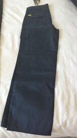 1 pair of Navy Blue cargo work trousers
