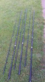 3 carp/pike 2.75lb tc rods