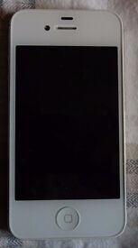 iPhone 4S White 64GB Unlocked with 2 Covers
