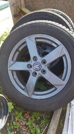 16 inch wolfrace alloys