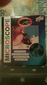 Vintage Kids Microscope Galt