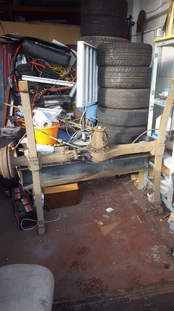 MK5 TRANSIT COMPLETE REAR AXLE 4:63 DIFF LEAF SPRINGS AND HUBS | in  Gosforth, Tyne and Wear | Gumtree