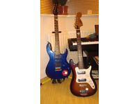 Satellite and cruiser by crafter electric guitars
