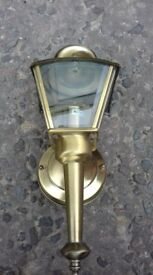 Beautiful Georgian Style, Brass Outdoor Light