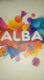REDUCED Alba 10 inch android tablet !